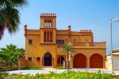 Arabian Villa. A modern villa on the Palm Jumeirah in Dubai stock photos