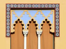Arabian window in Cordoba - Spain Royalty Free Stock Photography