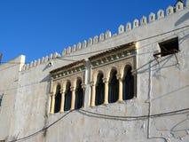 Arabian windows in Tunisia Stock Image
