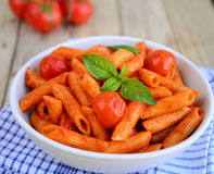 Arabiatta Pasta Royalty Free Stock Image