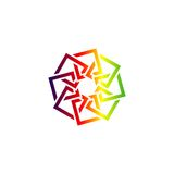 Arabic abstract logo. Vector for abstract ornament, EPS 10 ready stock illustration