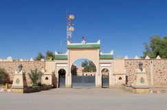 Arabic arch gate arcitecture Royalty Free Stock Photo