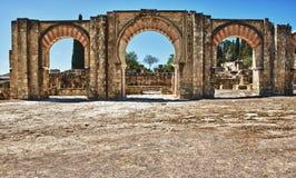 Arabic arches Stock Photos