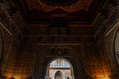 Arabic arches in Seville Stock Images