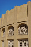 Arabic architect. The oldest existing building in Dubai Royalty Free Stock Images