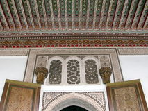 Arabic architectural designs Royalty Free Stock Image