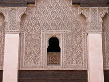 Arabic architectural designs Stock Photos