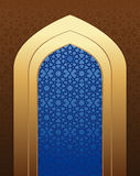 Arabic architecture. Islamic design background Royalty Free Stock Photos