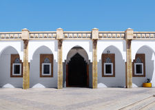 Arabic architecture at Loubnan Mosque, Agadir Royalty Free Stock Photos