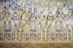 Arabic architecture pattern stock photography