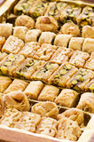 Arabic Baklava Royalty Free Stock Photography