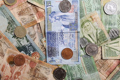 Arabic  banknotes Royalty Free Stock Photography