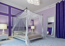 Arabic bedroom Royalty Free Stock Image