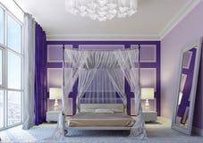 Arabic bedroom Royalty Free Stock Image