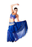 Arabic belly dancer Stock Image