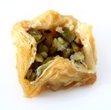 Arabic birds nest pastry Stock Photos