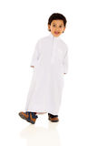 Arabic boy traditional clothes royalty free stock image
