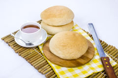 Arabic bread Royalty Free Stock Images