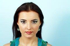 Arabic bright make-up Royalty Free Stock Photography
