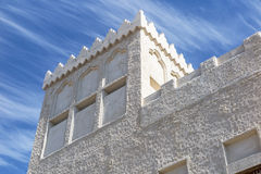 Arabic building Royalty Free Stock Photo