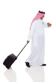 Arabic business traveler Stock Photos