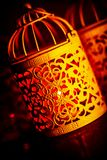 Arabic candlelight lamp Stock Image