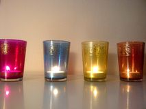 Arabic candles Stock Photography