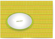 Arabic carpet with plate Royalty Free Stock Photography