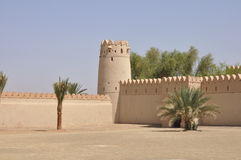 Arabic castle Stock Image