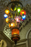 Arabic chandelier Stock Image
