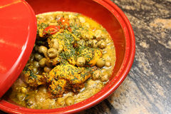 Arabic chicken tagine Stock Photography