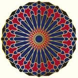 Arabic circular pattern Royalty Free Stock Images