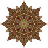Arabic circular pattern Stock Photo