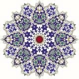 Arabic circular pattern Royalty Free Stock Photo