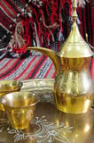 Arabic Coffe Pot And Cups