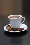 Arabic Coffee. Cup with coffee beans Stock Image
