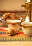 Arabic coffee Stock Image
