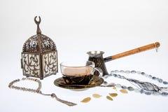 Arabic coffee in studio Stock Photography