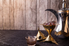 Arabic Coffee theme Royalty Free Stock Photography