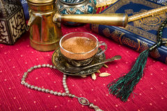 Arabic coffee Stock Images