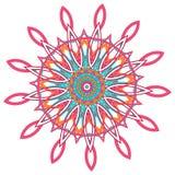 Arabic color mandala royalty free stock photos