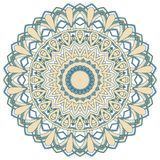 Arabic Colorful Mandala. Ethnic tribal ornaments. Colorful Mandala. Ethnic tribal ornaments. Geometric and floral motifs Royalty Free Stock Photos