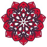 Arabic Colorful Mandala. Ethnic tribal ornaments. Colorful Mandala. Ethnic tribal ornaments. Geometric and floral motifs Royalty Free Stock Photography