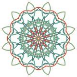 Arabic Colorful Mandala. Ethnic tribal ornaments. Colorful Mandala. Ethnic tribal ornaments. Geometric and floral motifs Stock Image