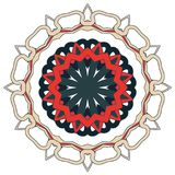 Arabic Colorful Mandala. Ethnic tribal ornaments Stock Photos