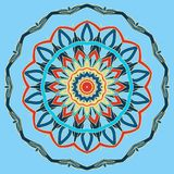 Arabic Colorful Mandala. Ethnic tribal ornaments Stock Photography