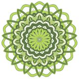 Arabic Colorful Mandala. Ethnic tribal ornaments. Colorful Mandala. Ethnic tribal ornaments. Geometric and floral motifs Stock Images