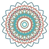 Arabic Colorful Mandala. Ethnic tribal ornaments. Colorful Mandala. Ethnic tribal ornaments. Geometric and floral motifs Stock Photography