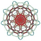 Arabic Colorful Mandala. Ethnic tribal ornaments Stock Image