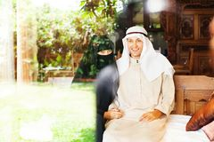Muslim couple Stock Photos